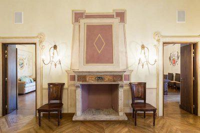 Salotto Castello Pontebosio